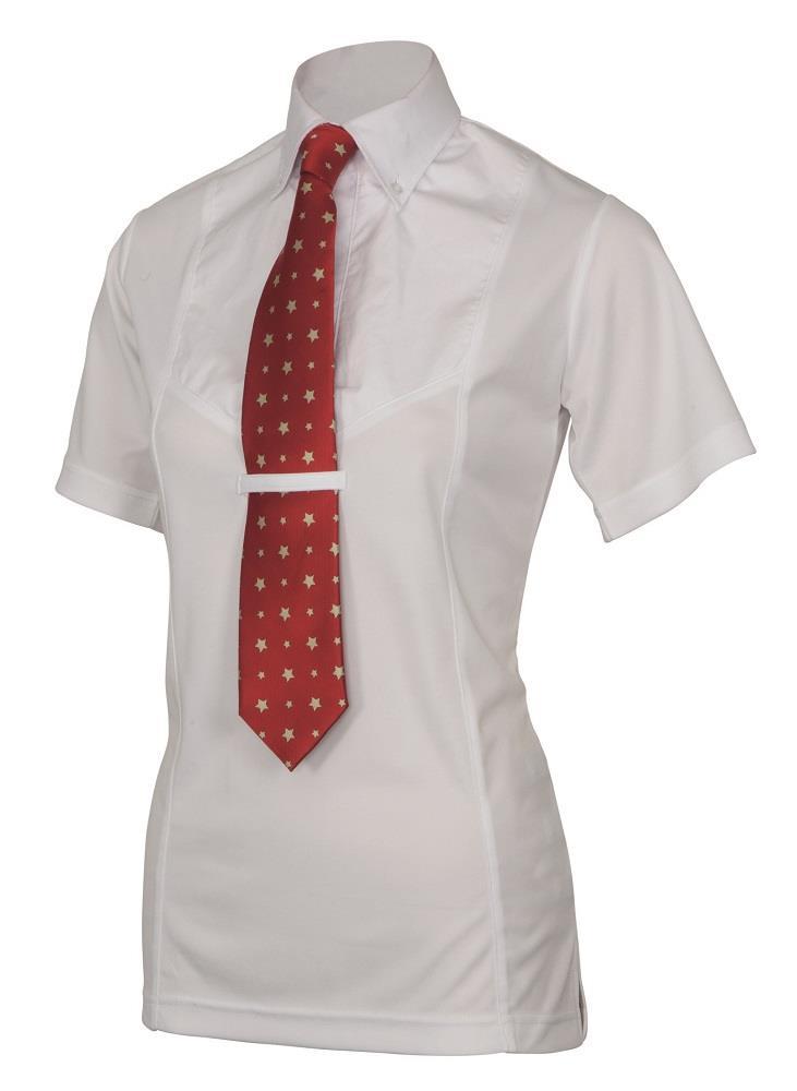 Shires Maids Short Sleeve Tie Shirt