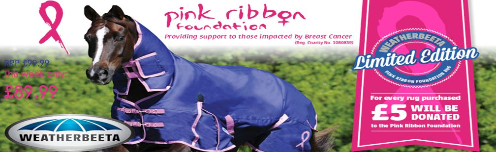 Pink Ribbon Rug discounted