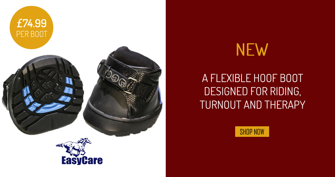 A Flexible Hoof Boot Designed For Riding, Turnout And Therapy