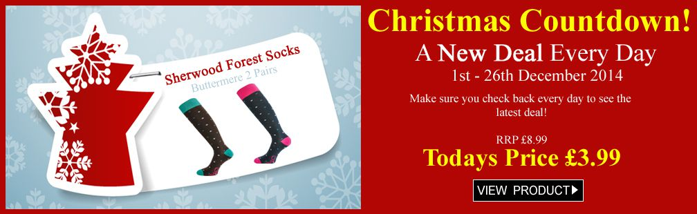Buttermere ladies riding socks less than half price