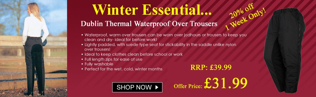 Thermal overtrousers