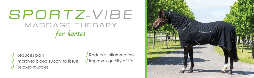 Spotzvibe Horse therapy rug below RRP