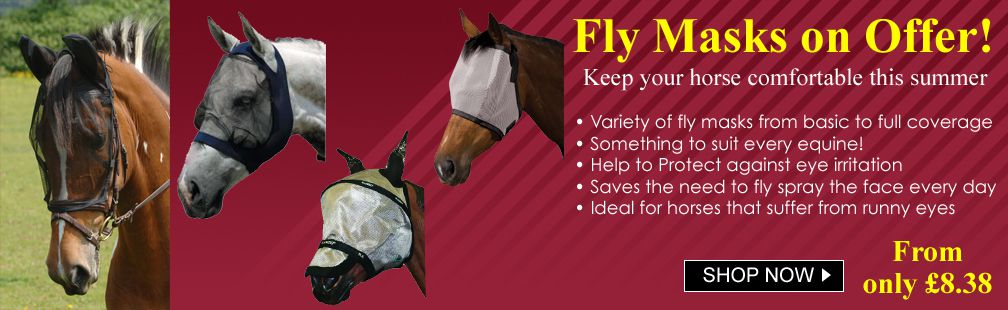 SALE Horse fly masks discount