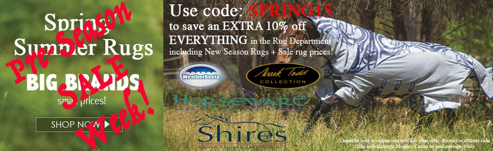 Rug Pre Season SALE Now On!