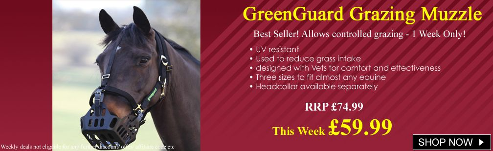 Greenguard muzzles on SALE