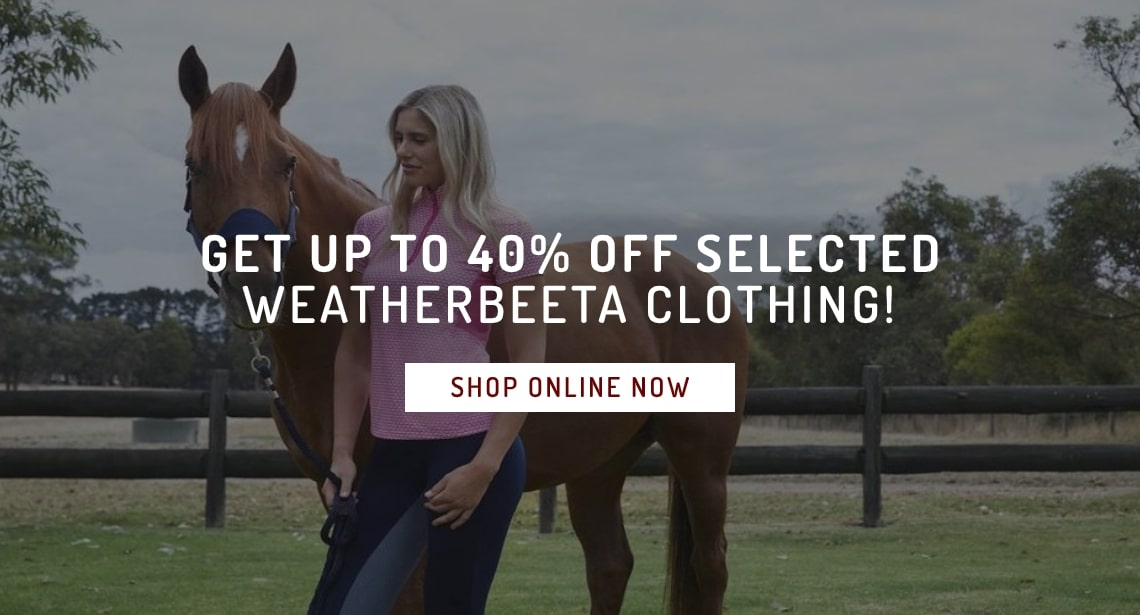 Weatherbeeta Up To 40% Off Selected Clothing!