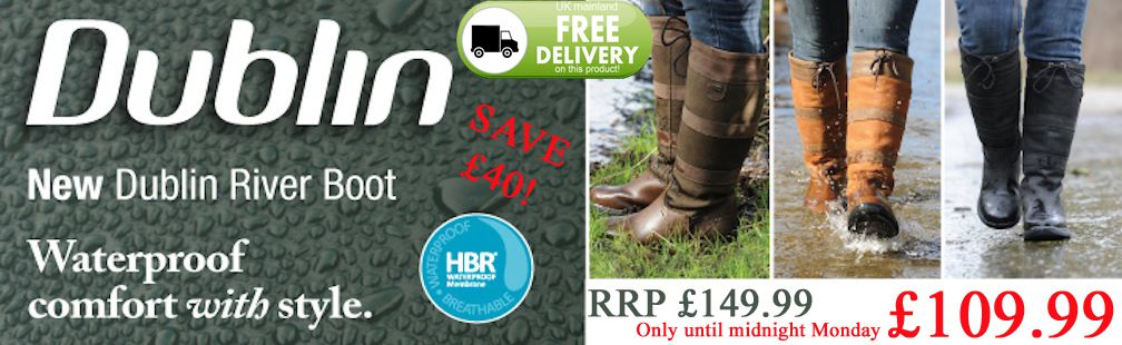 Dublin river boots on SALE