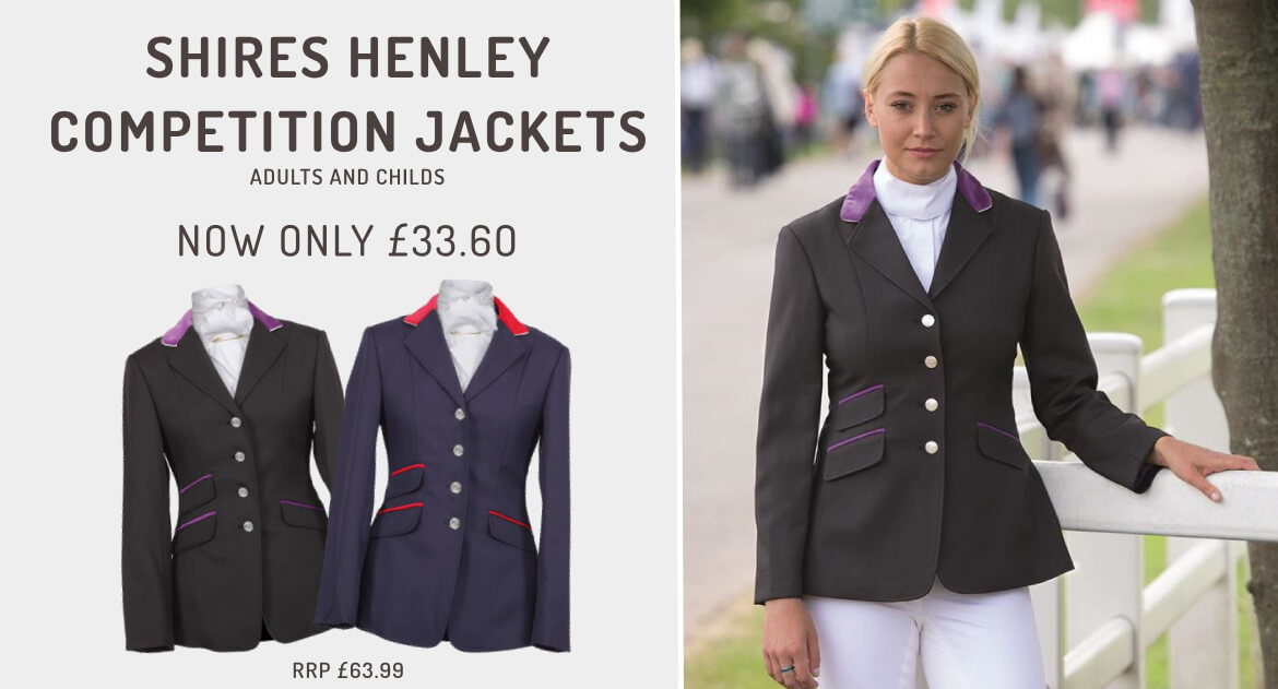 Shires Competition Jacket Promotion