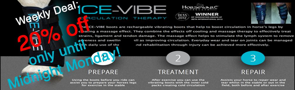 20% off Horseware Icevibe Therapy Boots This Week Only