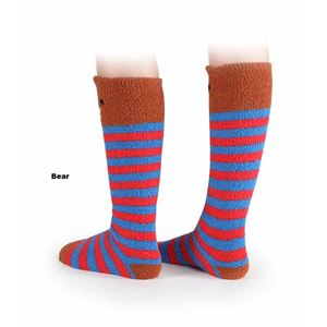 Shires Adults Fluffy Animal Socks