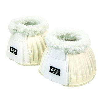Roma Fleece Trim Rubber Bell Boots