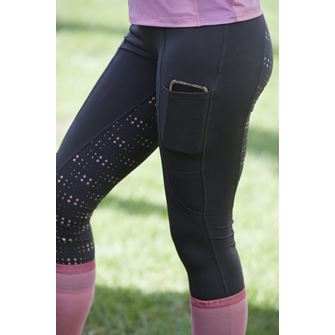 Dublin Performance Cool-It Dot Print Gel Riding Tights *Special Offer*
