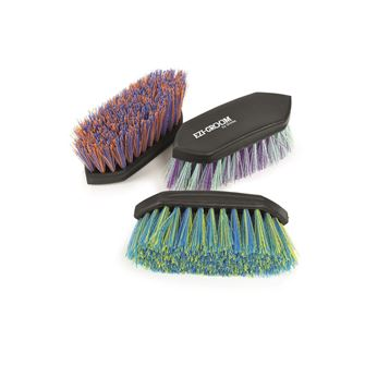 Shires Ezi-Groom Shape Up Dandy Brush - Large