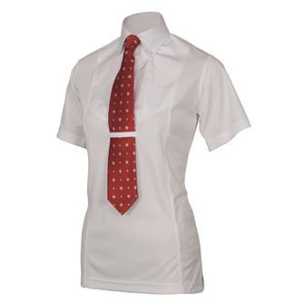 Shires Children's Short Sleeve Tie Shirt