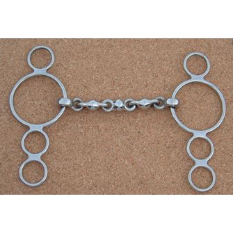 4 Ring Continental Waterford Snaffle