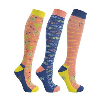 HyFASHION Llama Socks (Pack of 3)