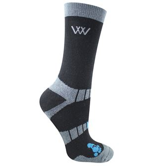 Woof Wear Bamboo Waffle Short Riding Sock