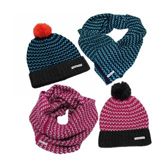Horseware Ladies Bobble Hat & Snood Set 2016
