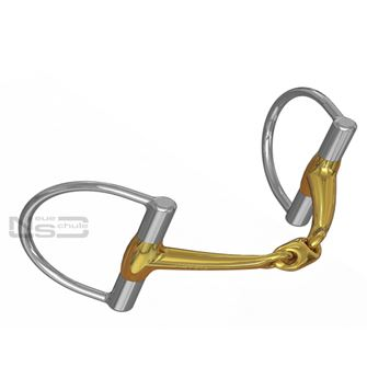 Neue Schule Trans Angled Lozenge D Ring