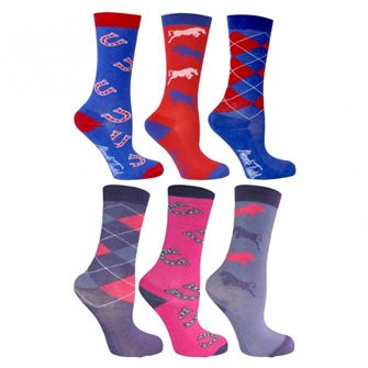Mark Todd Children's Riding Socks Pack of 3