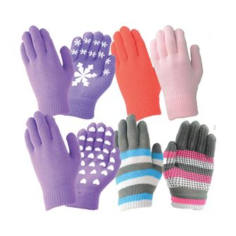 Hy5 Magic Patterned Riding Gloves Adults