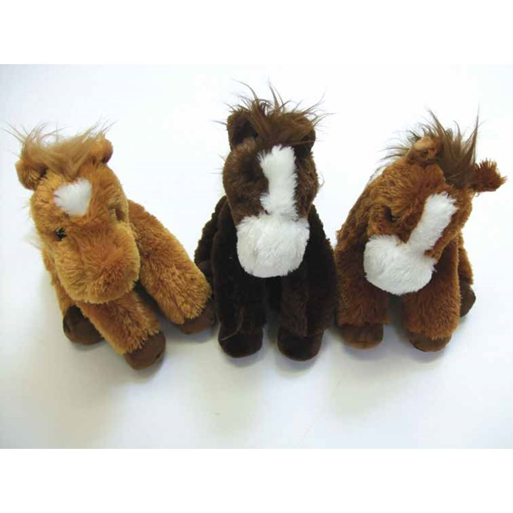 Plush Flopsie Horse 30cm Assorted Colours