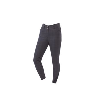 Dublin Plaid Pro Form Gel Knee Patch Breeches