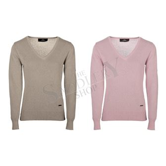Horseware AA Platinum Collection Ladies Casual V-Neck Sweater