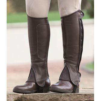 Shires Performance Wortham Leather Half Chaps