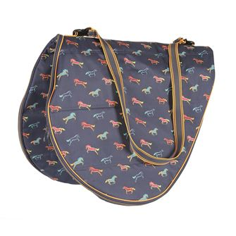 Shires Printed Saddle Carrying Bag