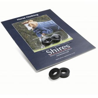 Shires Spare Surcingle Rubbers