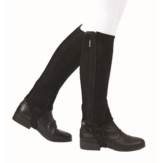 Dublin Adults Suede Half Chaps