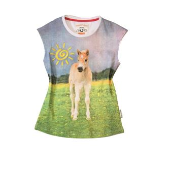 Horseware Kids Novelty Tee - Pony Picture