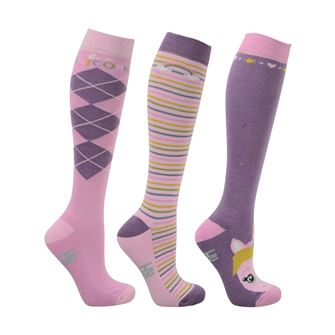 HyFASHION Little Unicorn Socks (Pack of 3)