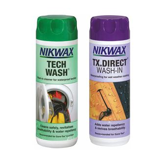 Nikwax Tech Wash & TX.Direct Wash-In 300ml