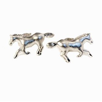 Falabella Sterling Silver Horse Stud Earrings with Presentation Box ER18