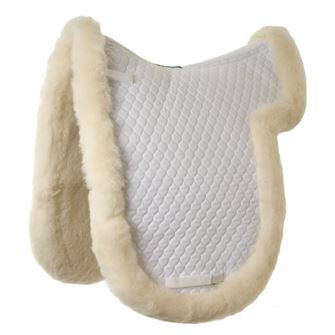 Griffin Nuumed Original Gullet Free HiWither Luxury Full Wool Dressage Numnah