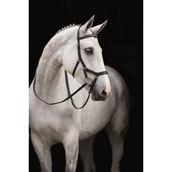 Rambo Micklem Diamante Competition Bridle English Leather (No reins)