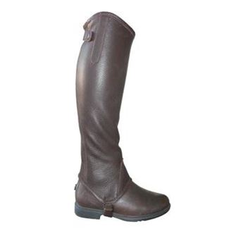 Mark Todd Soft Leather Half Chaps/ Gaiters