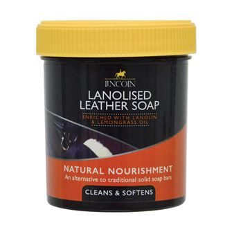 Lincoln Lanolised Leather Soap 400g