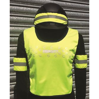 Equisafety Eco Range Reflective Riding 3 Pack