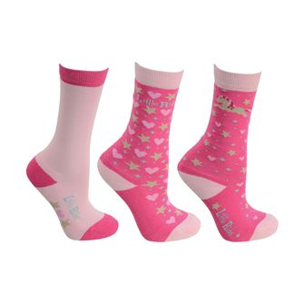 Little Rider Little Show Pony Socks (pack of three)