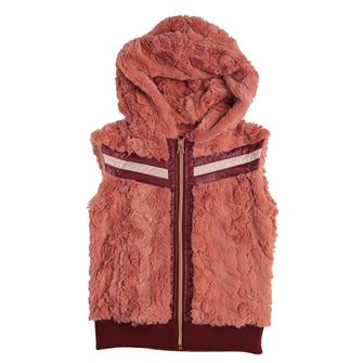 Horseware Super Lux Faux Fur Hooded Gilet