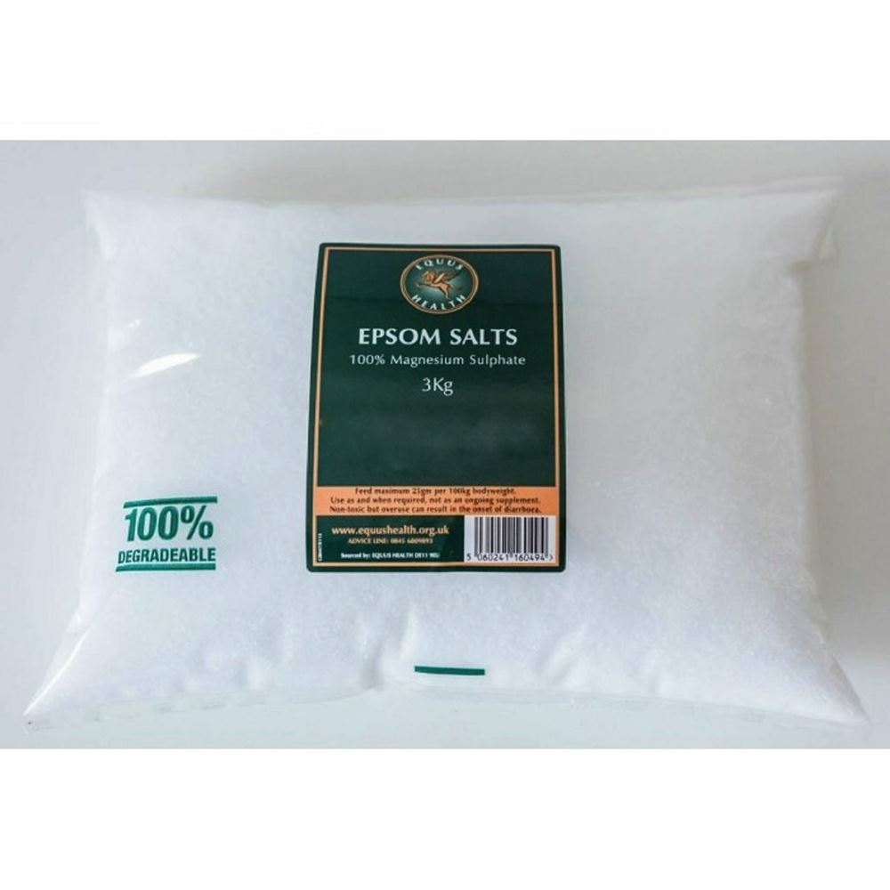 Equus Health Epsom Salts 1.5kg Bag