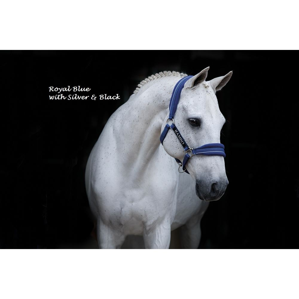 **FREE UK Shipping** Royal Blue//Silver//Black Horseware Rambo Saddlepad