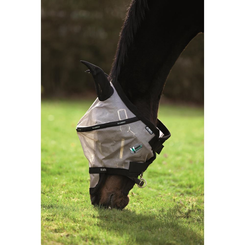 Horseware Ireland Rambo Fly Mask Plus Vamoose