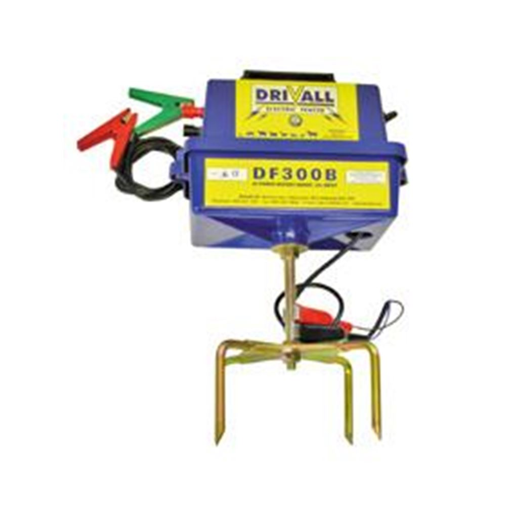 Drivall Portable Df300b Electric Fence Energiser