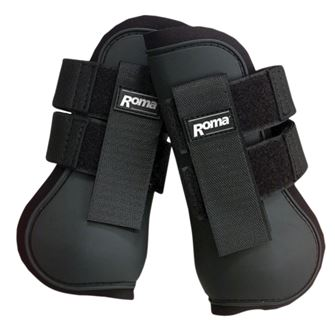 Roma Open Front Boots (Tendon Boots)