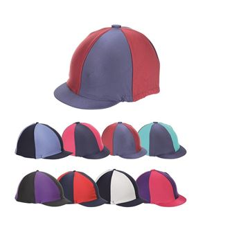 Shires Two Tone Stretch Hat Cover