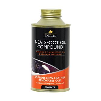 Lincoln Neatsfoot Oil Compound 500ml